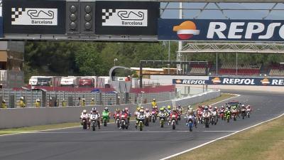 Highlights: FIM CEV Repsol Moto3 Race 2 - Barcelona