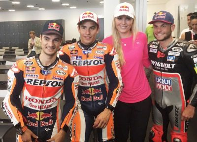 Bet this lady knows something about speed! #DP26 & #MM93