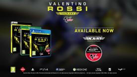 #ValentinoRossiTheGame is now available for PlayStation®4, Xbox One®, the all-in-one games and entertainment system, and Windows PC/STEAM.