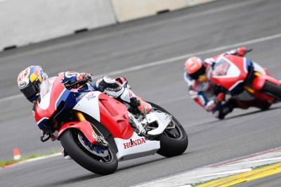 Marquez and Pedrosa get run out in Austria