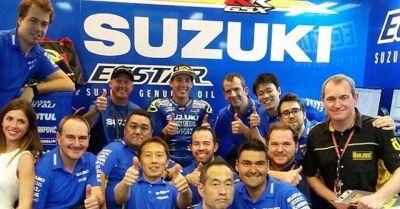 Has been 2 fantstics seasons with this guys, now Suzuki