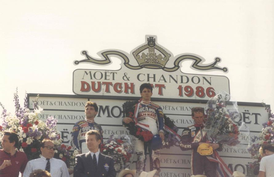 Jorge Martínez Aspar GP Holanda 80cc 1988 Assen