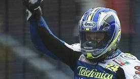 Check out the story of how Sete Gibernau took Michelin's 300th premier-class victory at the 2003 Dutch GP.
