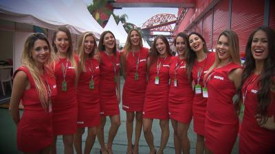 The Paddock Girls of the #ArgentinaGP