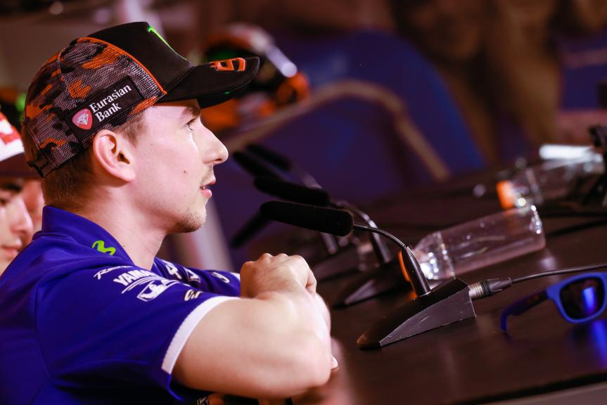 Jorge Lorenzo, Press conference Motul TT Assen