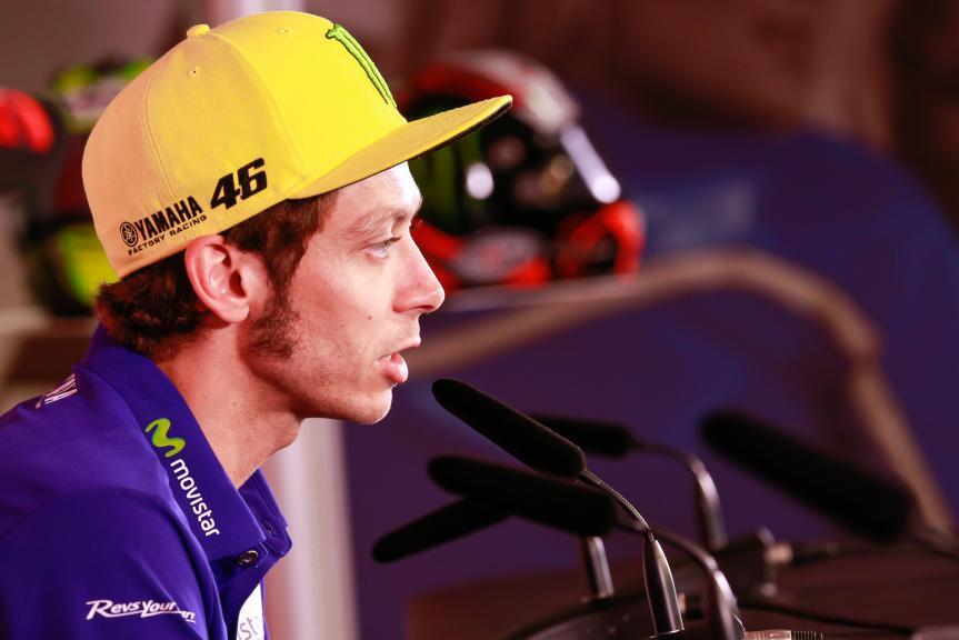 Valentino Rossi, Press conference Motul TT Assen