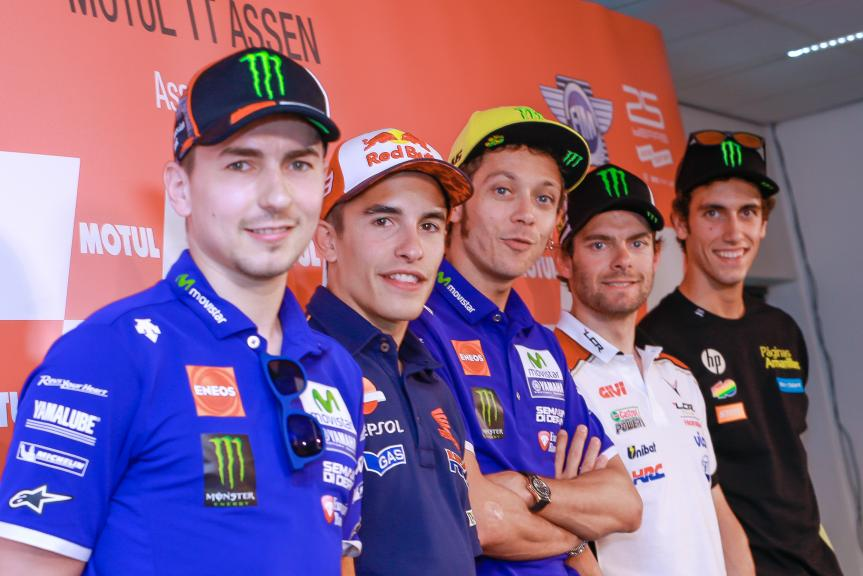 Press conference Motul TT Assen
