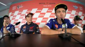 All of the action from the official opening press conference at the #DutchGP.