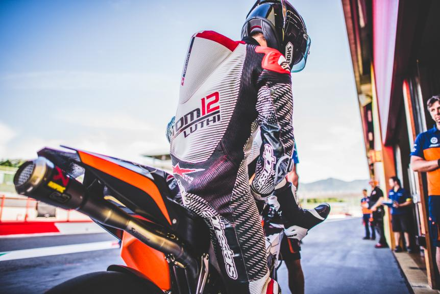 Tom Luthi KTM RC16 Pit Lane Mugello 2016