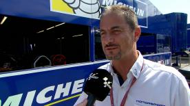 Manager of the Michelin MotoGP™ programme Piero Taramasso talks us through the tyre allocation for the TT Circuit Assen.