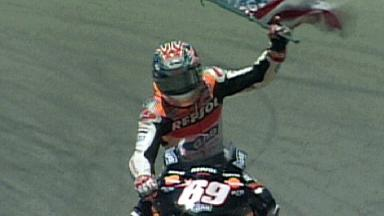 Video Highlights USA 2005 (race MotoGP)