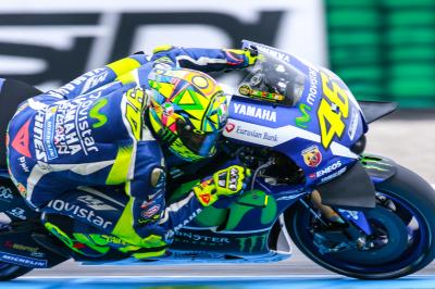 """Rossi: """"Iannone just beat me by 0.004s"""""""