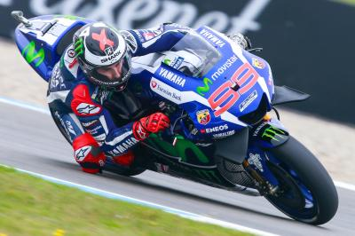 """Lorenzo: """"We again tried the new chassis"""""""