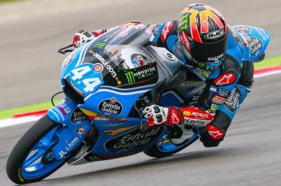 Moto3: Canet landet am Freitag an der Spitze