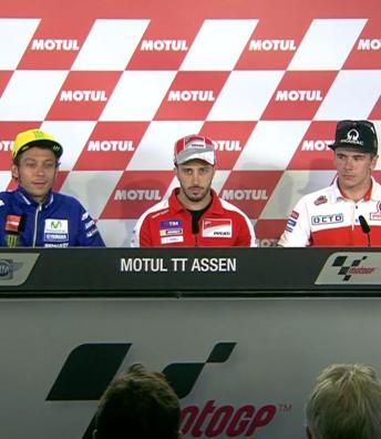 Post-Qualifying Press conference: #DutchGP