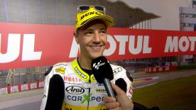 Dominique Aegerter qualified in third for the Moto2™ race at the Dutch GP after timing his qualifying charge perfectly to avoid the rain.