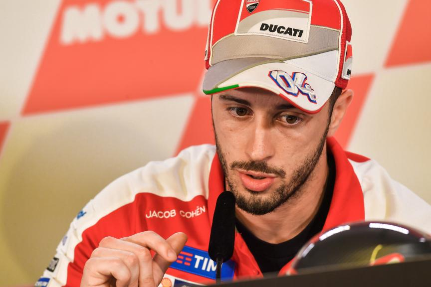 Andrea Dovizioso, Ducati Team, Press conference, Motul TT Assen