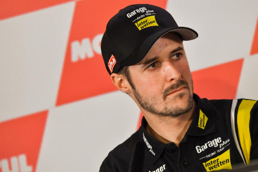 Thomas Luthi, Garage Plus Interwetten, Press conference, Motul TT Assen