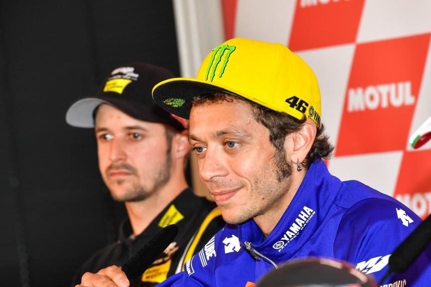 Valentino Rossi, Movistar Yamaha MotoGP, Press conference, Motul TT Assen