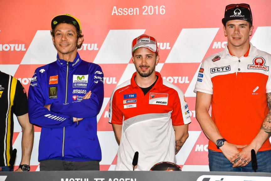 Press conference, Motul TT Assen