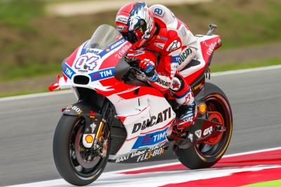 Dovizioso quickest as dust settles on dramatic FP3 in Assen