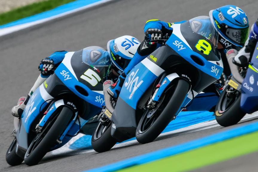 Romano Fenati, Nicolo Bulega, SKY Racing Team VR46, Motul TT Assen