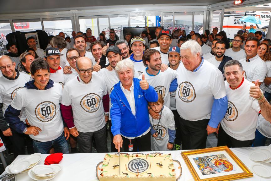 Angel Nieto, 50 años en MotoGP