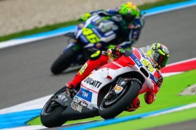 Iannone, de nuevo primero en el warm up de MotoGP™
