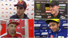 The fastest MotoGP™ riders give us feedback on their race results at the #DutchGP.