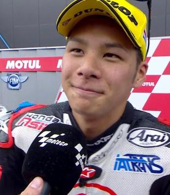 """Nakagami: """"Race was really enjoyable"""""""