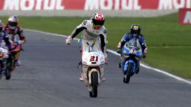 Relive the spectacular last lap from the Dutch GP Moto3™ race.