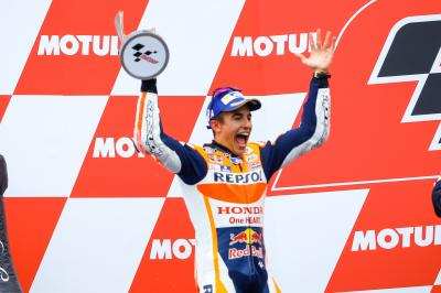 """Marquez: """"It was very dangerous out there"""""""