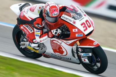 Nakagami gana por primera vez en Moto2™