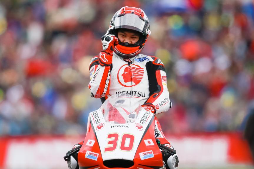 Takaaki Nakagami, IDEMITSU Honda Team Asia, Motul TT Assen
