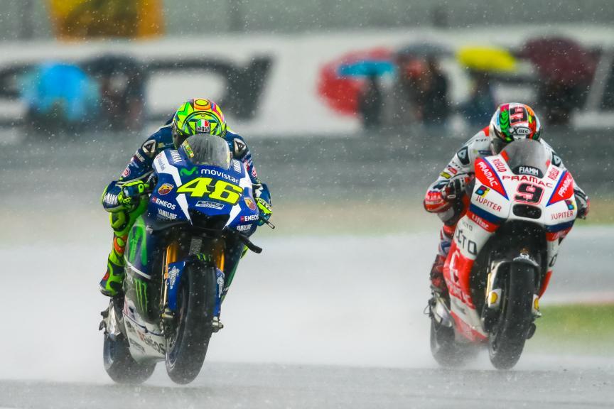 Valentino Rossi, Movistar Yamaha MotoGP, Danilo Petrucci, OCTO Pramac Yakhnich, Motul TT Assen