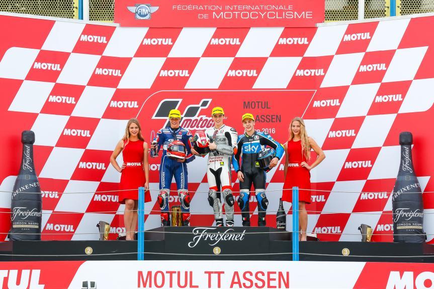 Podium Moto3, Motul TT Assen