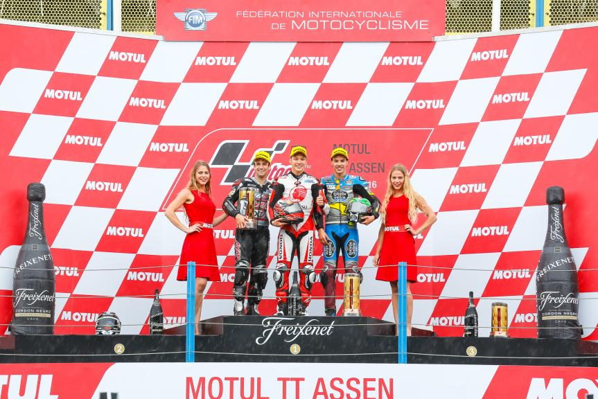 Podium Moto2, Motul TT Assen