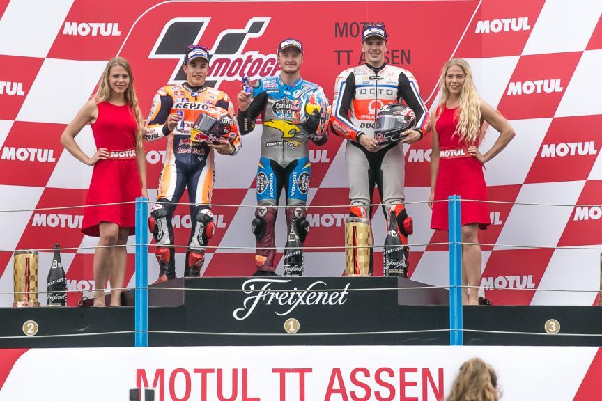 Podium MotoGP, Motul TT Assen