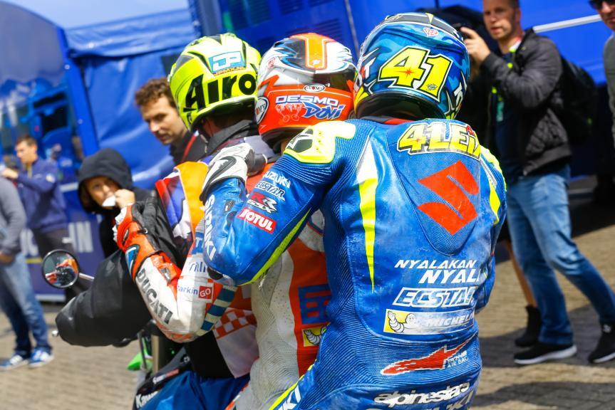 Aleix Espargaro, Team SUZUKI ECSTAR, Andrea Dovizioso, Ducati Team, Motul TT Assen, Motul TT Assen