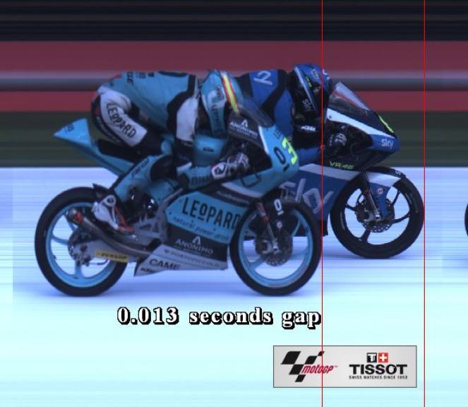 Photofinish, Moto3, Motul TT Assen