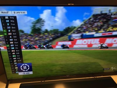 I think that moto3 is the funniest Motorsport show to