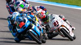 Some of the best Moto2 & Moto3 overtaking moves from the weekend at the #DutchGP.  1. Maria Herera (Moto3) - 66 pointss 2. Hafizh Syahrin (Moto2) - 57 points 3. Brad Binder (Moto3) - 51 points 4. John McPhee (Moto3) - 48 points 5. Fabio Spiranelli (Moto3) - 48 points