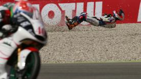 A detailed look at the cause and effect of the noteworthy crashes of the #DutchGP.