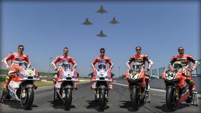 Ducati : Objectif victoire