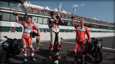 Iannone, Dovizioso, Stoner & Co bei World Ducati Week