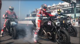 Andrea Iannone, Andrea Dovizioso et Casey Stoner ont rejoint les milliers de Ducatistes au Ducati Week pour célébrer les 90 ans de la marque