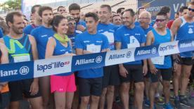 Marc Márquez a participé à une course caritative organisée de nuit par Allianz avec Lap for Life '93 au Circuit de Barcelona-Catalunya.