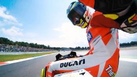 L'Italien a dû partir du fond de la grille à deux reprises au Motul TT Assen…