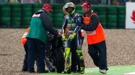 Depuis Mick Doohan en 1998, personne n'a eu le titre MotoGP™ en ayant abandonné au moins trois fois. Rossi peut-il le faire cette année ?