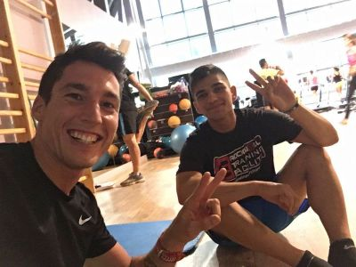Gym time w @88jorgemartin https://t.co/rhPeihDSTN
